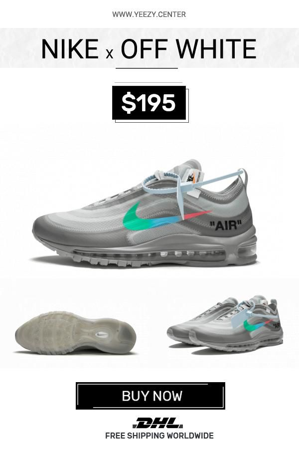 purchase cheap c21a0 710b9 Price of the best Nike Off-White Air Max 97   OW Menta fake sneakers