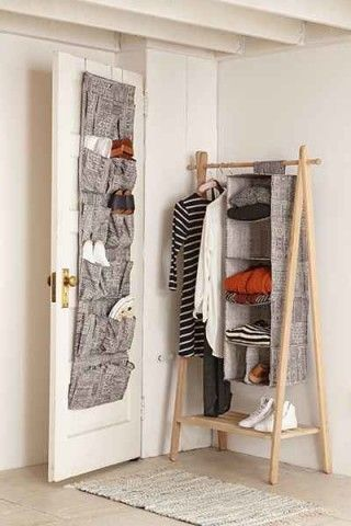Make the most out of your unused spaces with the Kali Hanging Shoe Rack.