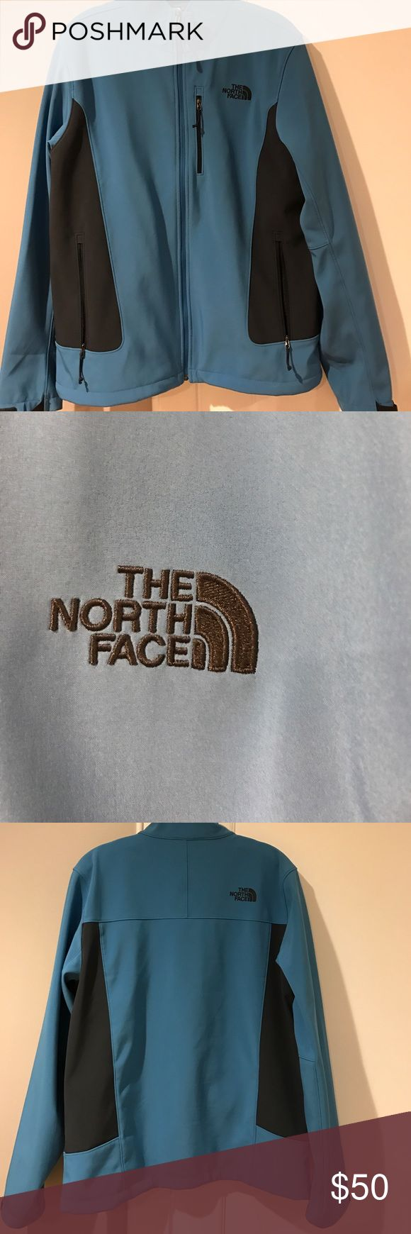 North face heron blue men's shellrock jacket The North Face Shellrock Jacket for Men -Featuring an advanced Apex Universal ( like new only worn once ) North Face Jackets & Coats Raincoats