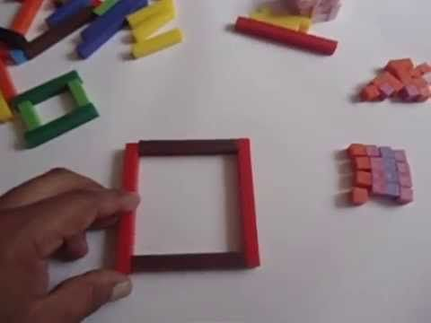 ▶ Perímetros con las regletas de Cuisenaire - YouTube