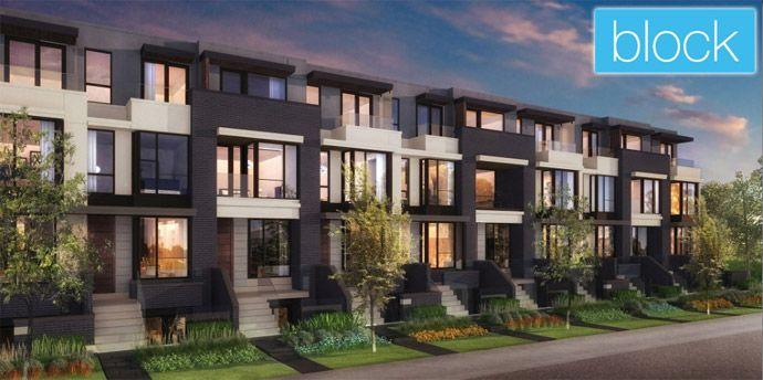 block Toronto townhouse project by Treasure Hill Developments.