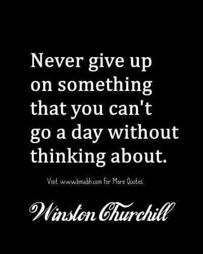 Famous Never Give Up Quotes More