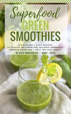 Superfood Green Smoothies eBook