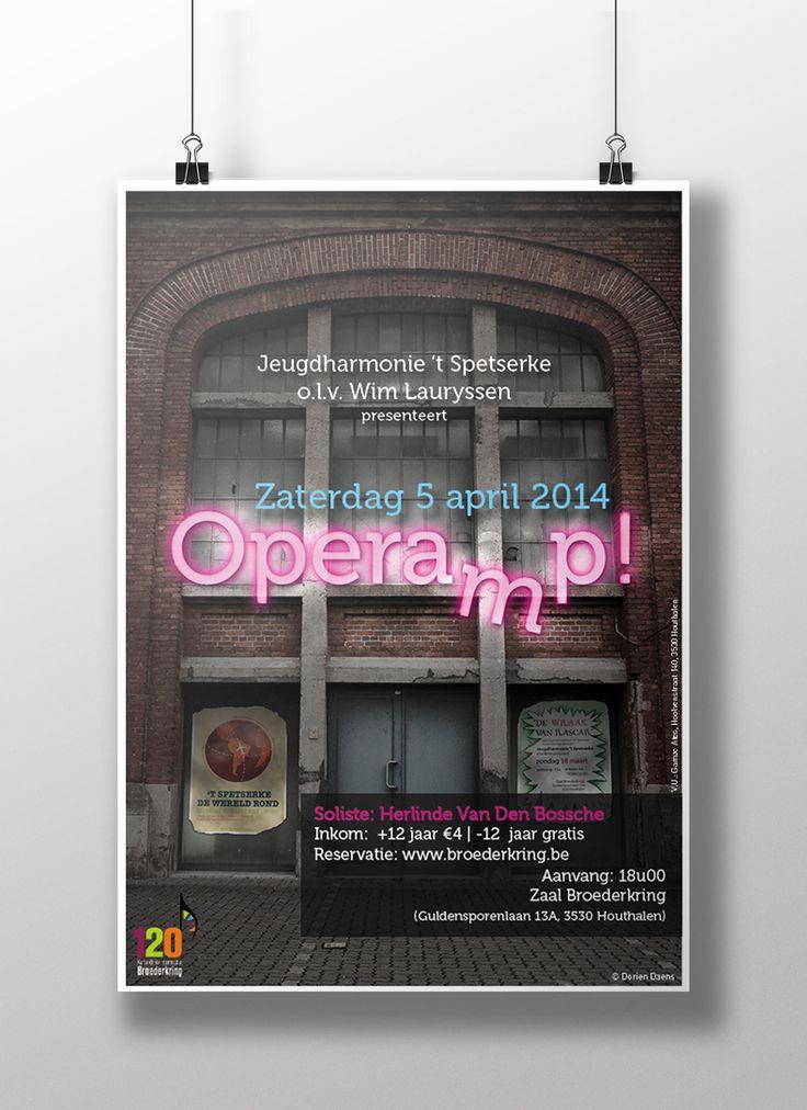 Poster Design  Copyright Dorien Daens 2014