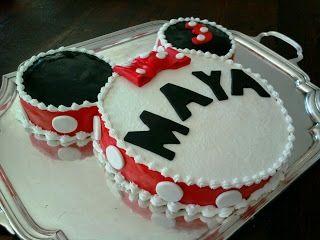 Quick Birthday Cake Designs : Quick Minnie cake Birthday Ideas Pinterest