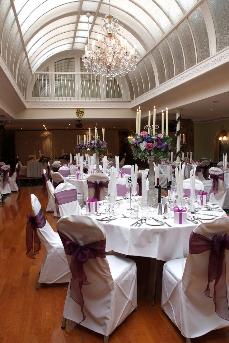 Slaley hall wedding rooms decor