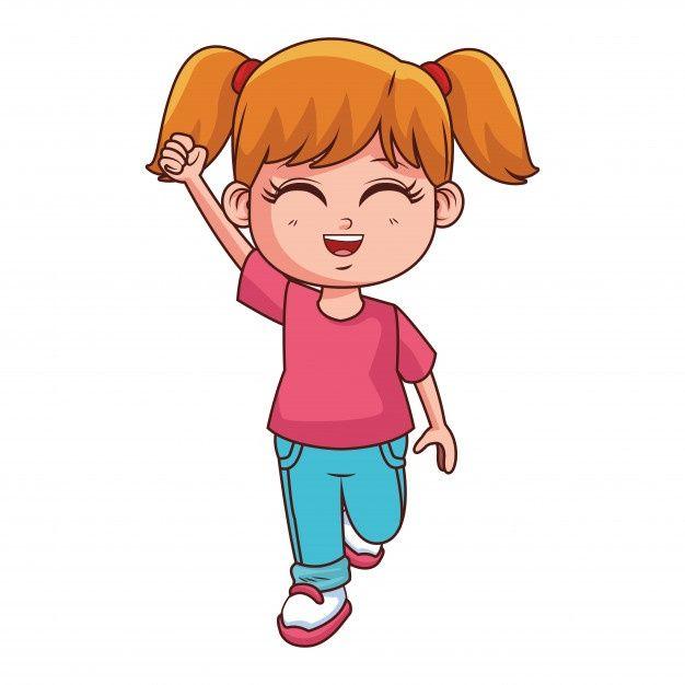 Dibujos Animados De Cuerpo De Nina Linda Premium Vector Freepik Vector Personas Mujer Moda Chica Zelda Characters Character Vault Boy