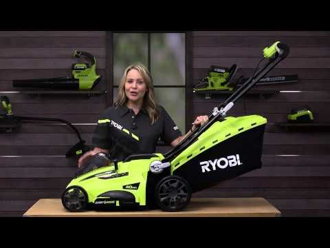 36V 4.0Ah Lawn Mower Kit Product Detail - RYOBI Tools