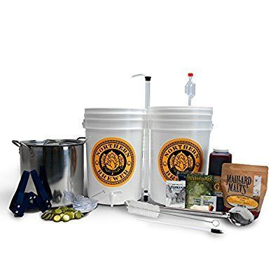 Brew. Share. Enjoy. Homebrew Beer Brewing Starter Kit with Block Party Amber Ale Beer Recipe Kit and Brew Kettle by Brewery in a Box: Amazon.ca: Tools & Home Improvement #homebrewingrecipesbeer