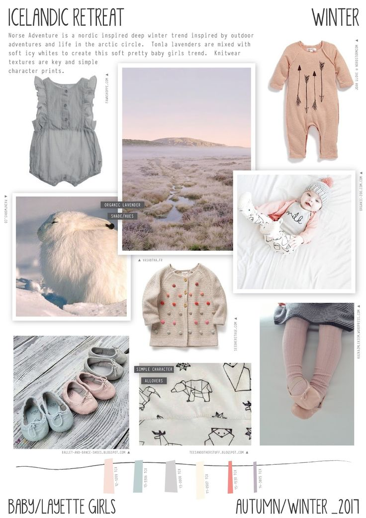 Emily Kiddy: Icelandic Retreat - Autumn/Winter 2016/17 - Baby/Layette Girls…