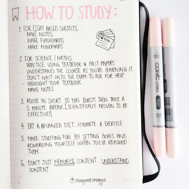 Hoe moet je leren?