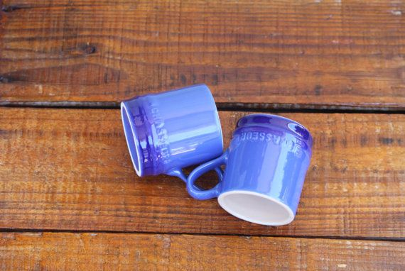 Blue Mini Mug Natural Soy Wax Scented Candle / by WillowandPeacock, $8.00