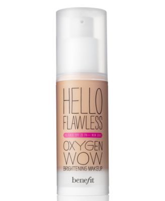 Benefit Cosmetics hello flawless oxygen wow liquid foundationHow to look younger using makeup and proper skincare yahoo