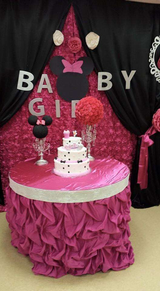 Minnie mouse baby shower party ideas cumplea os minnie - Decoracion de minnie mouse para cumpleanos ...