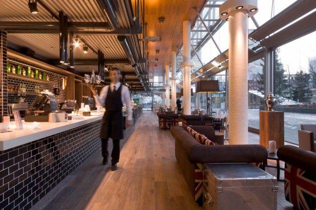 Fitch & Shui Restaurant by D/DOCK.: Design Inspiration, Ddock Design, Hospitals Design, Amsterdam Hotels, Subway Tile, Amsterdam Fitch, Shui Restaurant, Hijacker Design, Amsterdam Design