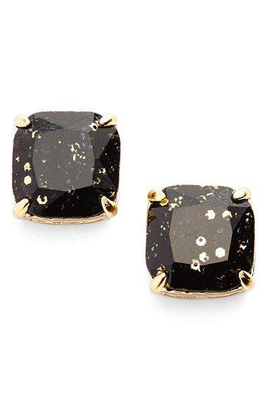 kate spade new york glitter stud earrings in Multi glitter available at #Nordstrom
