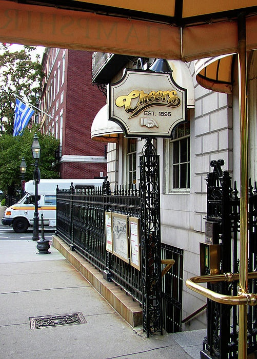 Want to go where everybody knows your name? Stop by Cheers!
