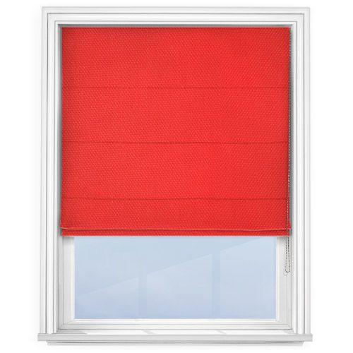 Prestigious Panama Red Roman Blind