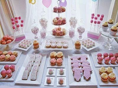 Baby Shower Desserts On Precious Pretty In Pink Baby Shower Dessert Table  Baby Lifestyles