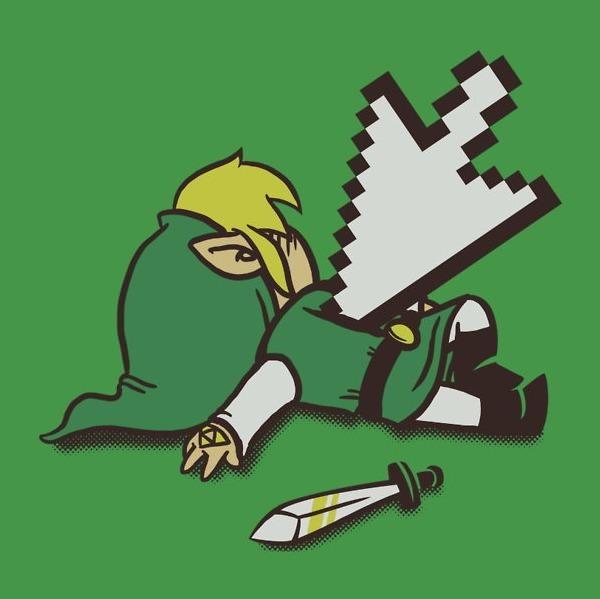 Dead Link. #Zelda
