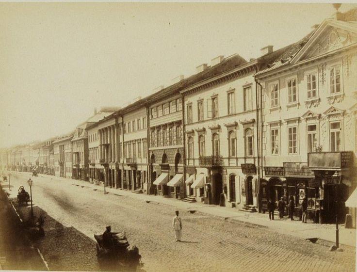 Nowy Świat około roku 1870.