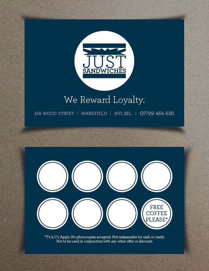 Customer loyalty cards are an excellent way to reward your for Frequent diner card template