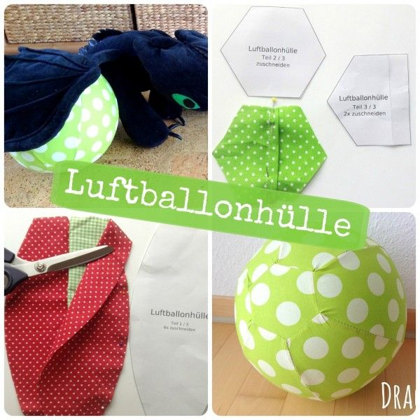DIY Luftballonhülle