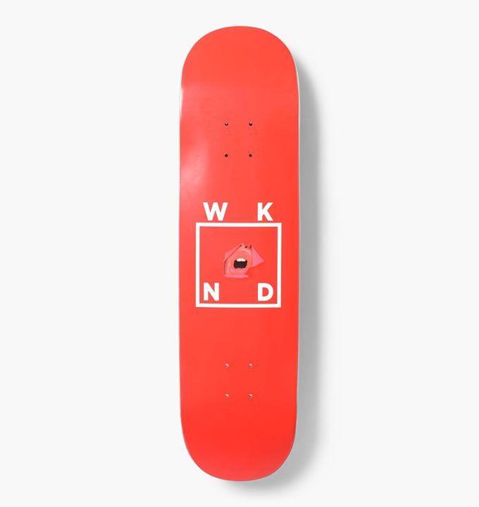 Wknd Skateboard Deck Red Lips 8 25 Snapchat Https Ift Tt 2izonfx Nintendo Wii Controller Wii Controller Game Console