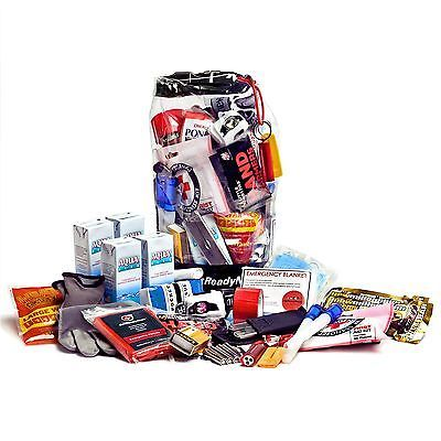 Personal Survival Kit and Emergency Pack for Cars, Trucks, RVs, and Trailers (W