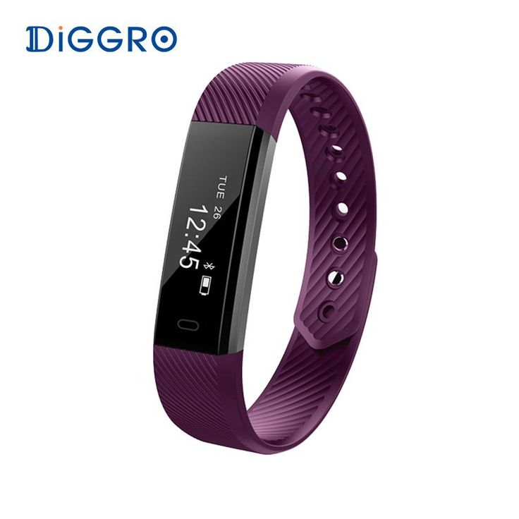 Diggro ID115 Smart Bracelet Bluetooth 4.0 Pedometer Calorie Sleep  Monitor Call/SMS. Language: French,Japanese,Italian,Russian,Spanish,Portuguese,English,German,KoreanBrand Name: DIGGROTouch Screen: YesStyle: SportFunction: Remote Control,Passometer,Message Reminder,Sleep Tracker,Activity Tracker,Call Reminder,Fitness TrackerBand Detachable: YesModel: ID115Application Age Group: AdultWaterproof Grade: Life WaterproofScreen Type: LEDCompatibility: All CompatibleScreen Style…