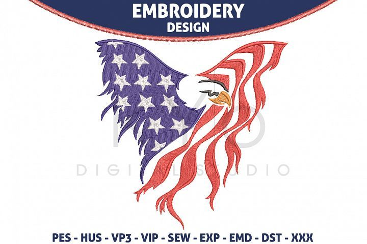 I Love USA 4th of July Machine Embroidery Designs on CD 20 Patriotic