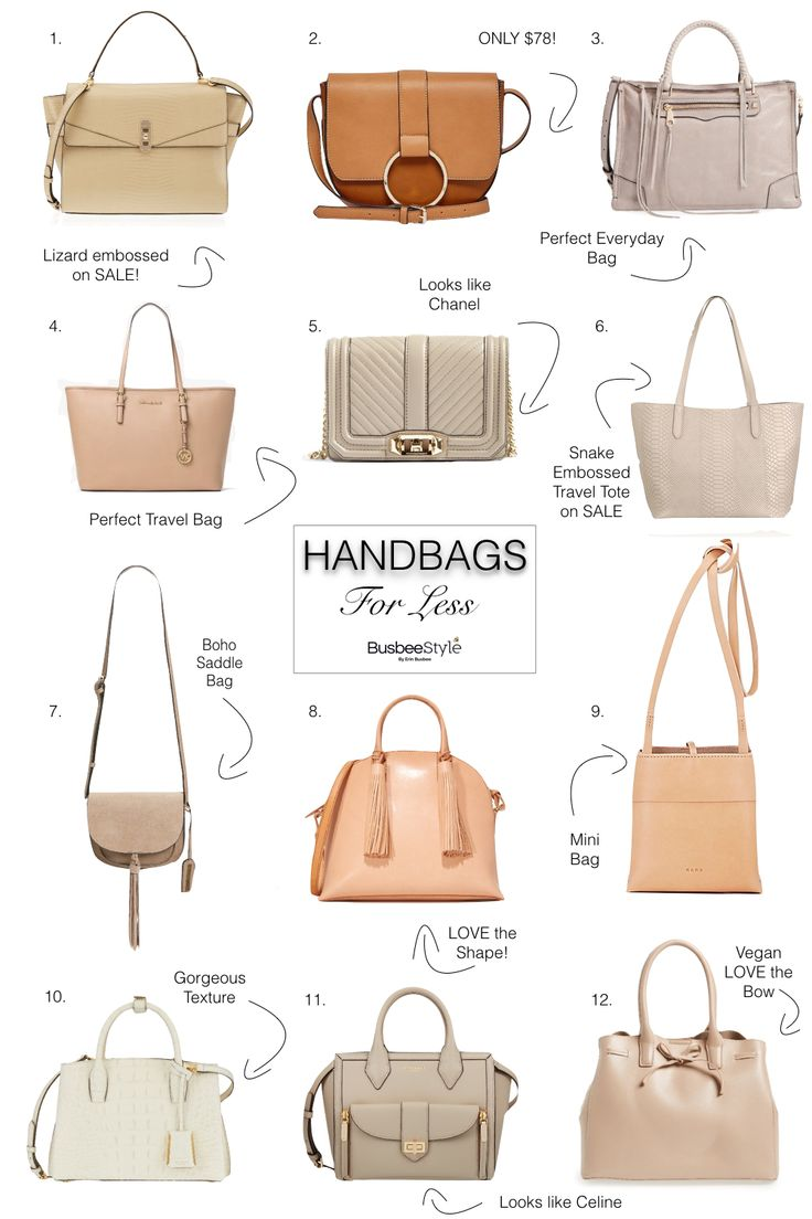 High End Handbags & Similar Bags For Less