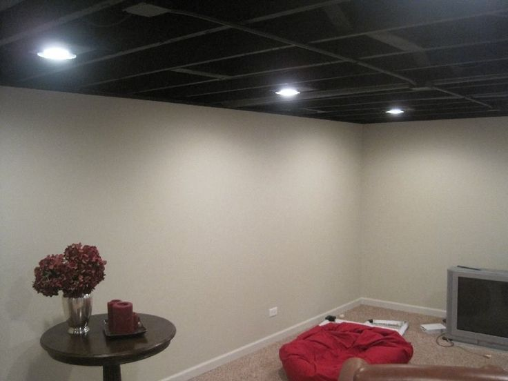 1000 ideas about open basement on pinterest unfinished for Cool painted ceilings