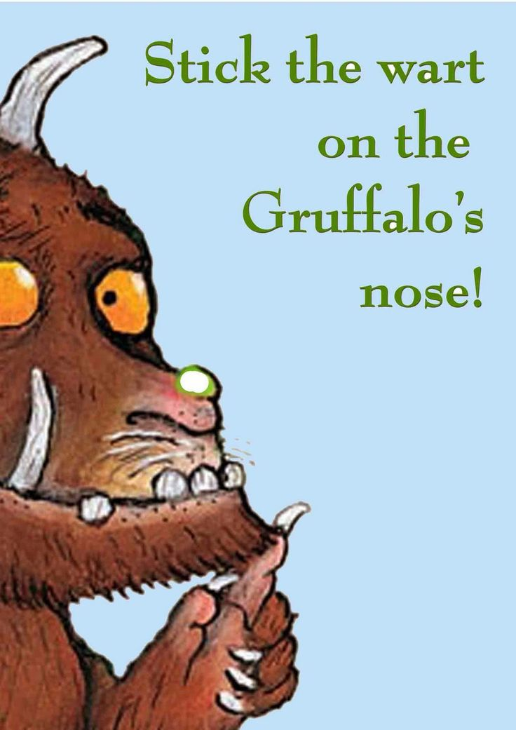 Made By Bronwyn: Austin's Gruffalo birthday party - the games