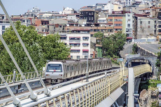 Транспортный блог Saroavto: Стамбул: Начало строительства 7 линии метро