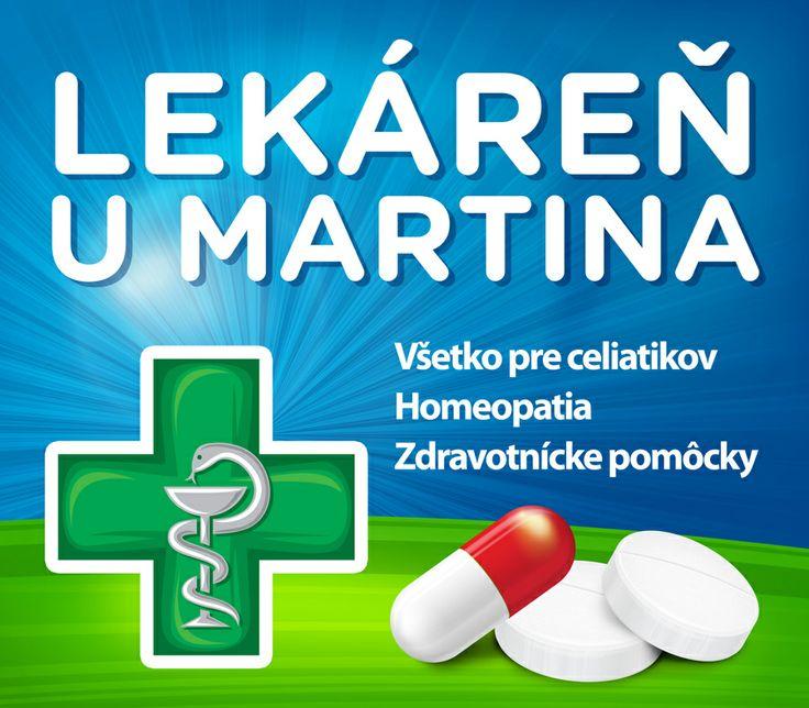 Samolepka - Lekáreň u Martina