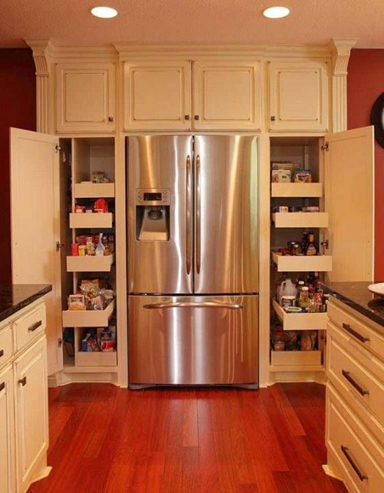 Better Homes and Gardens Facebook.: Kitchens Remodel, Kitchens Design, Kitchens Spaces Savers, Kitchens Ideas, Houses Ideas, Pantries, Galley Kitchens, Kitchens Cabinets, Photo