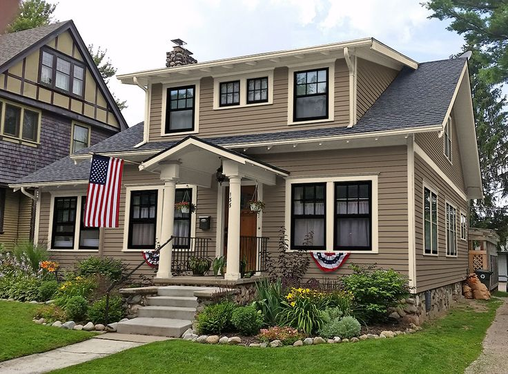 Sherwin williams weathered shingle home sweet skiatook pinterest house exterior paint for Colonial revival stone exterior paint
