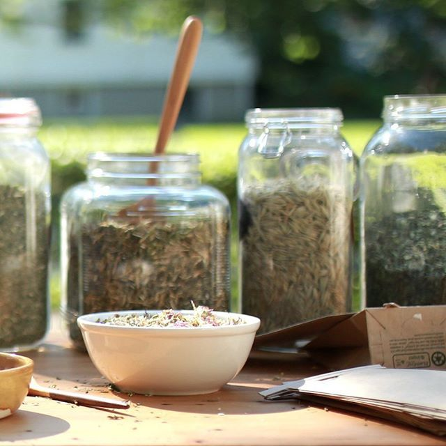 Building a home apothecary is an exciting part of learning herbalism. There is a sense of satisfaction that comes from having everything on hand and ready so that you can mix up the perfect herbal tea blend or formula at a moment's notice. But as your home apothecary grows from a few herbs to a few dozen or more, staying organized can be a challenge! A few simple steps to designate a space, choose the right containers, get organized, and keep track of what you have on hand will go a long way…