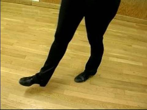 Ballet dancer combination toe wiggling and shoe play 10