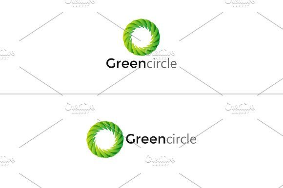 Green Circle Logo by BdThemes on @creativemarket
