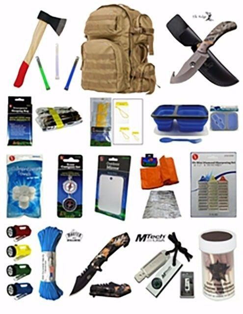 Other Emergency Gear 181415: Sale!! Bug-Out Bag: Survival Bag For Disaster, Emergency, Zombie Attack! -> BUY IT NOW ONLY: $120 on eBay!