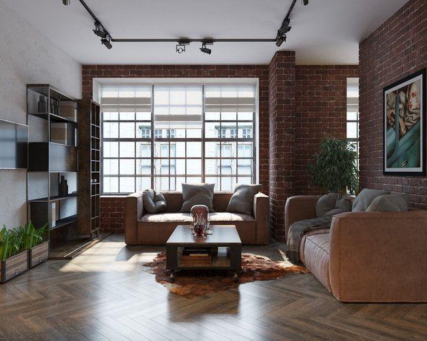 Открытая студийная планировка, бетонные и кирпичные стены и нестандартные решения – дизайнер Оксана Цымбалова умеет работать на контрастах. Хотите оформить лофт интересно? Рассказываем – как