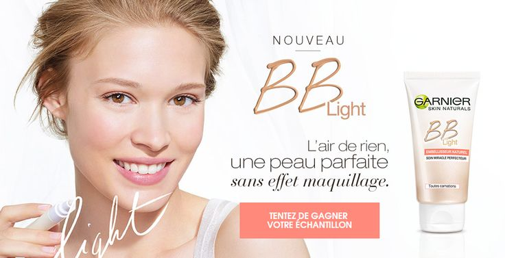 100 000 échantillons gratuits BB Light de Garnier