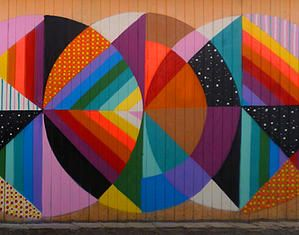 Street Art by Okuda San Miguel
