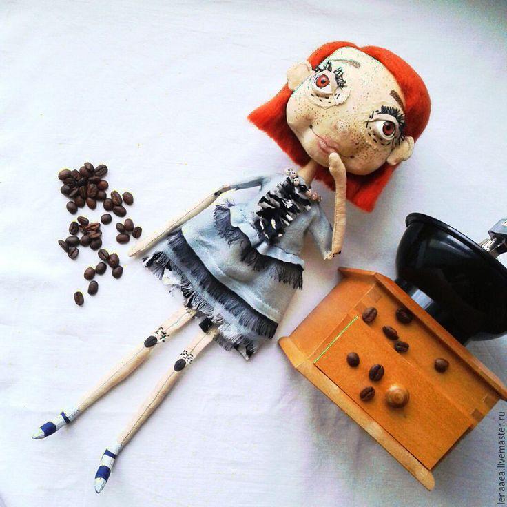 Купить Текстильная кукла - купить подарок, кукла ручной работы, стильный подарок