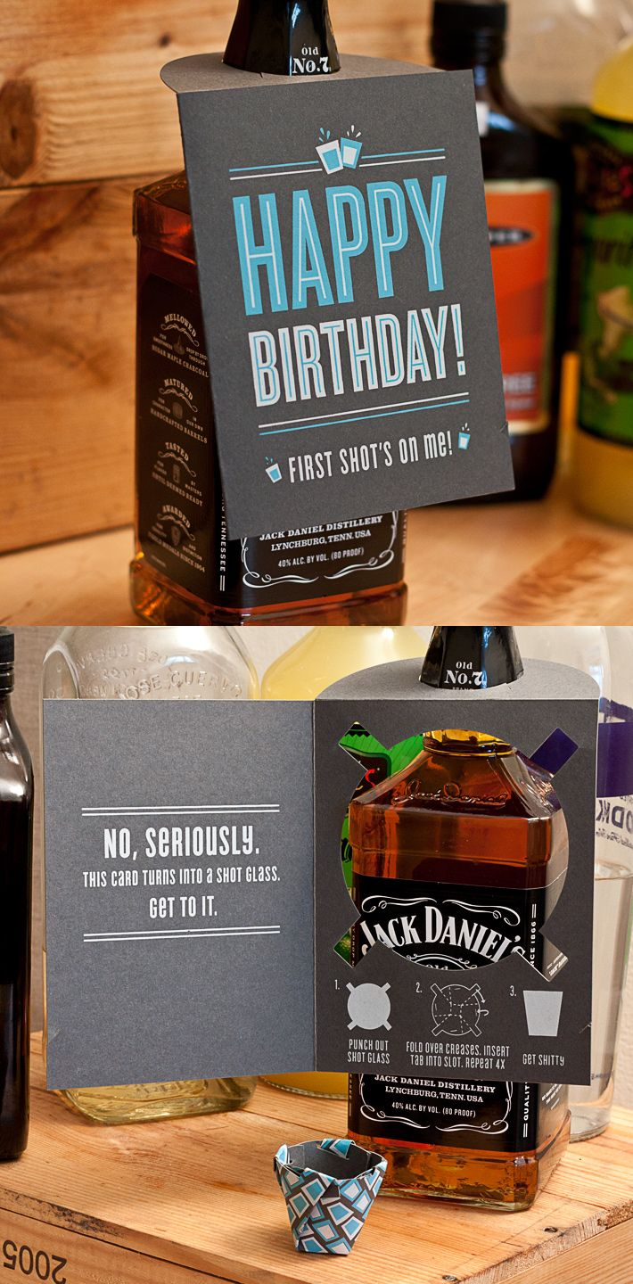 Fancy - Shot Glass Card