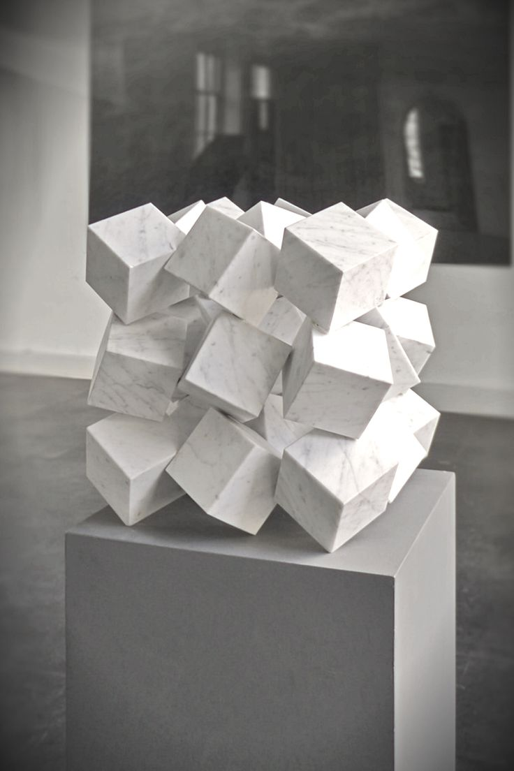KLAAS VERMASS cubes sculpture - Geometric                                                                                                                                                      More