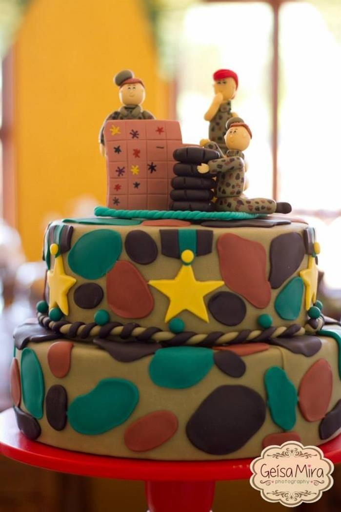 Party Camouflage Party Planning Ideas Supplies Idea Cake Decorations