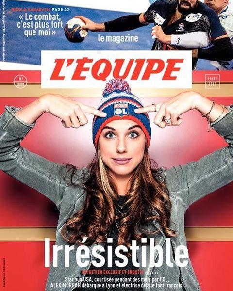 Alex Morgam || Olympique Lyonnais - L'Equipe Magazine (01.12.2017)